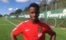 BP:s Emmanuel Ekong i samband med sommarens Tipselit Trophy för P15-lag.