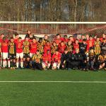 BK Häckens U17-lag från helgen i Odense. FOTO: BK Häcken