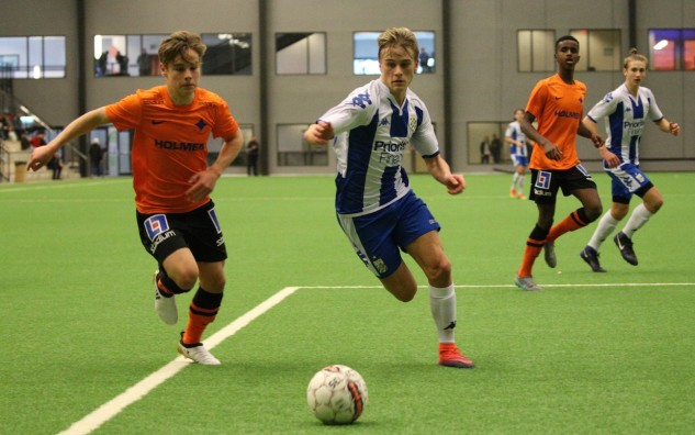 IFK Norrköpings U17-lag i finalen mot IFK Göteborgs dito i Ligacupen 2017.