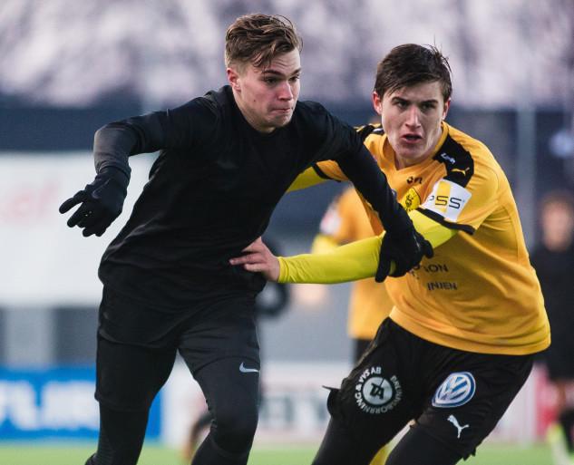 Fotboll, Träningsmatch, Frej - AIK
