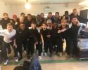 Hammarbys segrande U19-lag. Foto: Hammarby IF