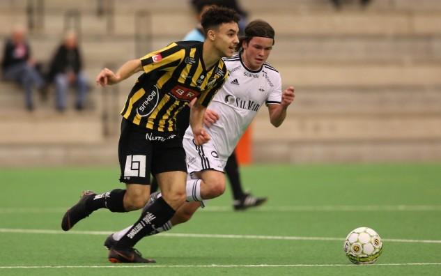 BK Häckens Oskar Ali i matchen mot Rosenborg. FOTO: Tobias/Bluewhitephoto