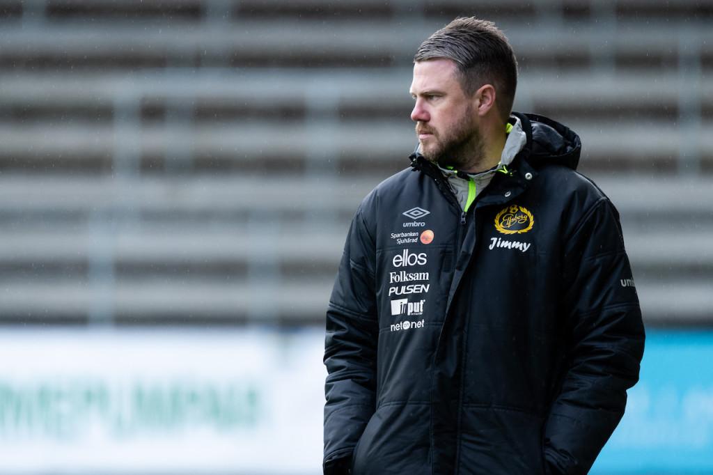 Elfsborgs manager Jimmy Thelin under träningsmatchen i fotboll mellan Elfsborg - Örebro den 15 mars 2019 i Borås. Foto: Jörgen Jarnberger / BILDBYRÅN / Cop 112