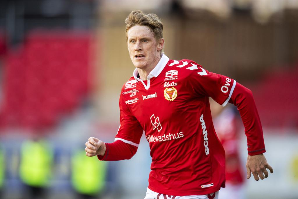 Kalmar FF:s Rasmus Elm under fotbollsmatchen i Allsvenskan mellan Kalmar och Sirius den 31 mars 2019 i Kalmar. Foto: Suvad Mrkonjic / BILDBYRÅN / COP 170