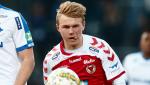 Edvin Crona – serieledare i dubbel bemärkelse. Kalmar FF toppar den södra serien medan Crona själv leder skytteligan i P19 Allsvenskan med sina elva mål.