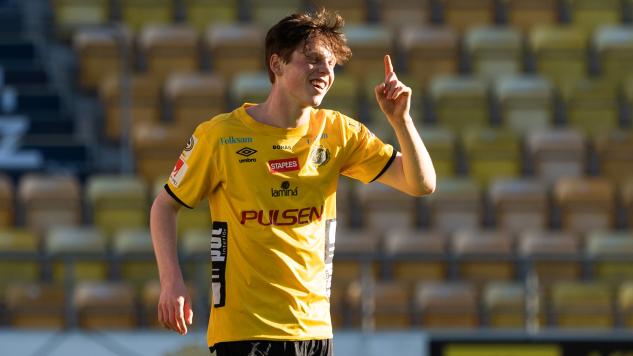 Jesper Sandberg Hesselgren avgjorde helgens seriefinal med sitt 2-1-mål.